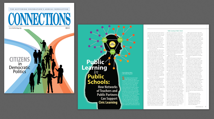 Connections 2013 Periodical Design