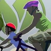 Family Biking Sustainability