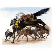 Horses and Jockeys