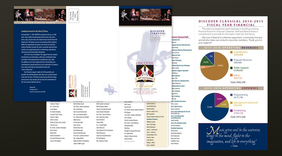 WDPR Annual Report Design