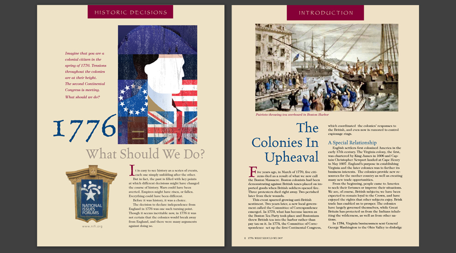 1776: What Should We Do?