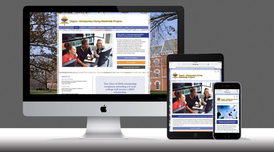 Dayton Montgomery County Scholarship Responsive Website