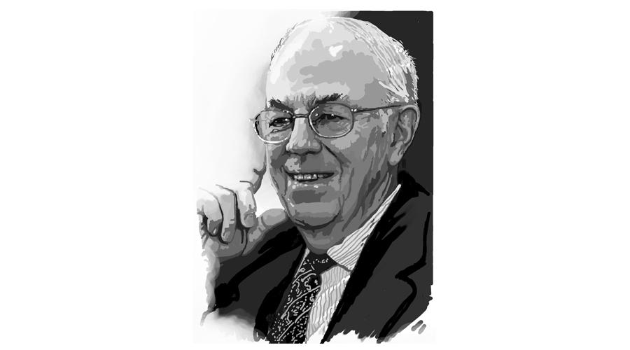 Hal Saunders Portrait