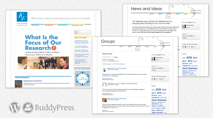 KF WordPress and Buddypress
