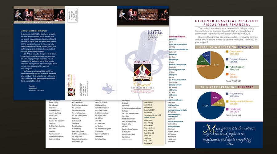 WDPR Annual Report Design